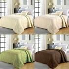 Reversible Queen Size Flower Winter Quilt Comforter Duvet Home Textiles New D2N8