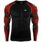 ZIPRAVS Men's Womens Base Layer Tight Top Cycling Fitness Running gym mma S~3XL