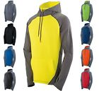 MEN'S WICKING, PERFORMANCE HOODIE, THUMBHOLE, LIGHTWEIGHT TWO TONE XS-L XL 2X 3X