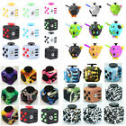 Cute Fidget Dice Cube 6 &12 Sides Adults Anti-anxiety Stress Reliever Funny Toys