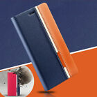 HOT! Retro Fashion Book Flip PU Leather Cover Stand Wallet Protective Case Skin