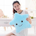 Valentine's Day Gift LED Light Up Star Glow Pillow Soft Cosy Relax Cushion Plush