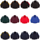 NEW UNISEX MENS WOMENS ADULTS WARM JACKET SPORTS COAT JUMPER TRAINING GYM TEAM