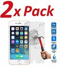 2x FOR IPHONE 7 + PLUS BALLISTIC TEMPERED GLASS SCREEN PROTECTOR GUARD 9H HARD