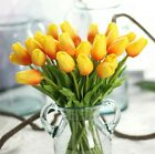 8Color 1Head Tulips Centerpieces Real Touch Flower Wedding Silk Bridal Flowers