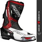 RST Tractech EVO Red Sports Race Boot Motorcycle Boots CE APPROVED
