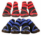 New Waterproof Pet Dog / Cat Red Blue Shoes Running Boots Paws Injury XXS~XXL