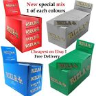 RIZLA Regular Genuine RED GREEN SILVER BLUE WHITE PINK Cigarette Rolling Papers <br/> Over 6000 sold!! UK Stock, Super Fast Delivery 1-3 days