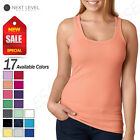 NEW Next Level Women's Spandex Jersey Racerback Tank Top M-6633