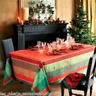 GARNIER-THIEBAUT, NOEL ILLUSTRE FRENCH HOLIDAY TABLECLOTH(S), ALL SIZES, NEW