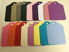 Giant Gift Tag 23cm x 19cm various colours pink blue purple red create own tag