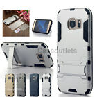 Hybrid Shockproof Heavy Duty w/ Kickstand Hard Case Cover For Samsung Galaxy S7