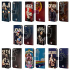 OFFICIAL WWE SUPERSTARS LEATHER BOOK WALLET CASE COVER FOR APPLE iPOD TOUCH MP3