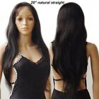 130% Density 7A Soft Silk Top Full Lace Human Hair Wig With Baby Hair Straight s
