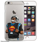 Superman cam newton Football Case for all iPhones, Hand Drawn Illustration