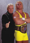 MR PERFECT 01 WITH BOBBY HEENAN (WRESTLING) PHOTO PRINT