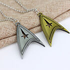 Star Trek Sliver Bronze Stainless Metal Chain Cosplay Necklace Qualified Stylish