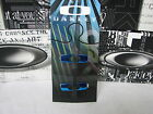 """OAKLEY BATWOLF REPLACEMENT """"O"""" ICONS LOGOS BLUE RARE NEW **AUTHENTIC**"""