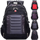 "Swiss Gear Men 15"" Laptop Backpack Computer Notebook Outdoor School Travel Bag"