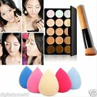 15 Colors Makeup Concealer Palette Cream Contour Kit Face Neutral Palette Box DZ