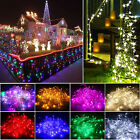 10M 100 LED Waterproof Fairy String Lights Christmas Garden Home Xmas Tree Decor