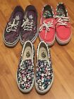 Lot Of 3 Pairs Women's Vans - All From Japan