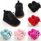 New Baby Toddler Snow Cotton Warm Boots Shoes Rubber Sole Prewalker Crib Shoes