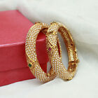 Indian Ethnic Gold Plated Pearl Bangle Set Bollywood Bridal Design Jewellery