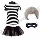 CHILDRENS KIDS GIRLS GANGSTA GANGSTER GRANNY FANCY DRESS COSTUME BOOK DAY WEEK.