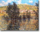 HUGE Monet The Seine at Vetheuil Stretched Canvas Giclee  Repro ALL SIZES