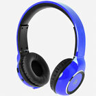 iDance Blue300 Wireless Bluetooth Head Phones iPod iPhone Android