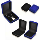 Top Selling New Velvet Necklace Jewelry Storage Boxes Locket Jewellery Case JR