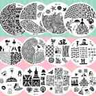 Born Pretty 60Designs Nail Art Stamping Templates Image Stamp Plates Nail Decor