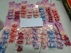 Joblot Wholesale Kid Hair Accessories Bobbles Elastics Crown Bunny Minnie Flower