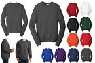MEN'S MID-WEIGHT, COTTON/POLY FLEECE, CLASSIC CREW SWEATSHIRT, PRESHRUNK, XS-4XL