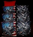 Custom USA Patriotic Swat Defense Gear 8 ACA regulation custom Cornhole bags B65