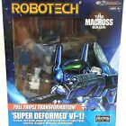 Robotech Macross Super Deformed VF-1J Max / VF-1S Fokker Action Figure