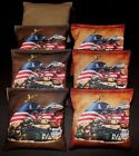 Custom US Patriotic Marine Military 8 ACA Regulation Handmade Cornhole bags B119