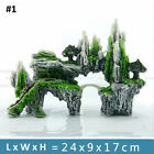 Resin Mountain View Aquarium Rockery Ornament Fish Tank Landscape Decoration
