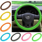 "14""- 16"" Soft Silicone Car Steering Wheel Cover Skidproof Odorless fit for VW"