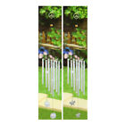 Decorative Windchime Butterfly or Birds Design Soothing Sounds Garden Outdoor