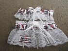 Arizona Cardinals Football NFL Bridal Garter Set White lace Regular / Plus size