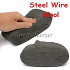 1X 2X 5X 3.3m Steel Wire Wool Grade 0000 For Polishing Cleaning Non Crumble New