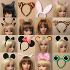 ANIMAL THEMED FANCY DRESS DRESSING UP HEADBAND MOUSE PUPPY DOG BEAR MINNIE PARTY