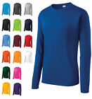 MEN'S MOISTURE WICKING DRY FIT SPORT-TEK Long Sleeve T-SHIRT NEW XS-2XL ST350LS