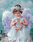 Portrait of A Beautiful Angel Gobelin Needlepoint Canvas  H27
