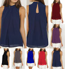 Fashion Women Lady Sleeveless Vest Top Blouse Casual Tops Crew Summer T-Shirt