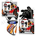 UK New Honda Motorbike Gloves Leather Repsol Motorcycle Gloves Racing Suits Bike