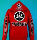 YAMAHA Racing Red Pullover Hoodie ATV Motocross YZF  Buy ANY 2, get a FREE tee!
