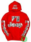 Jeep Snow Camo Red Pullover Hoodie Wrangler BUY ANY 2 HOODIES GET A FREE TEE!